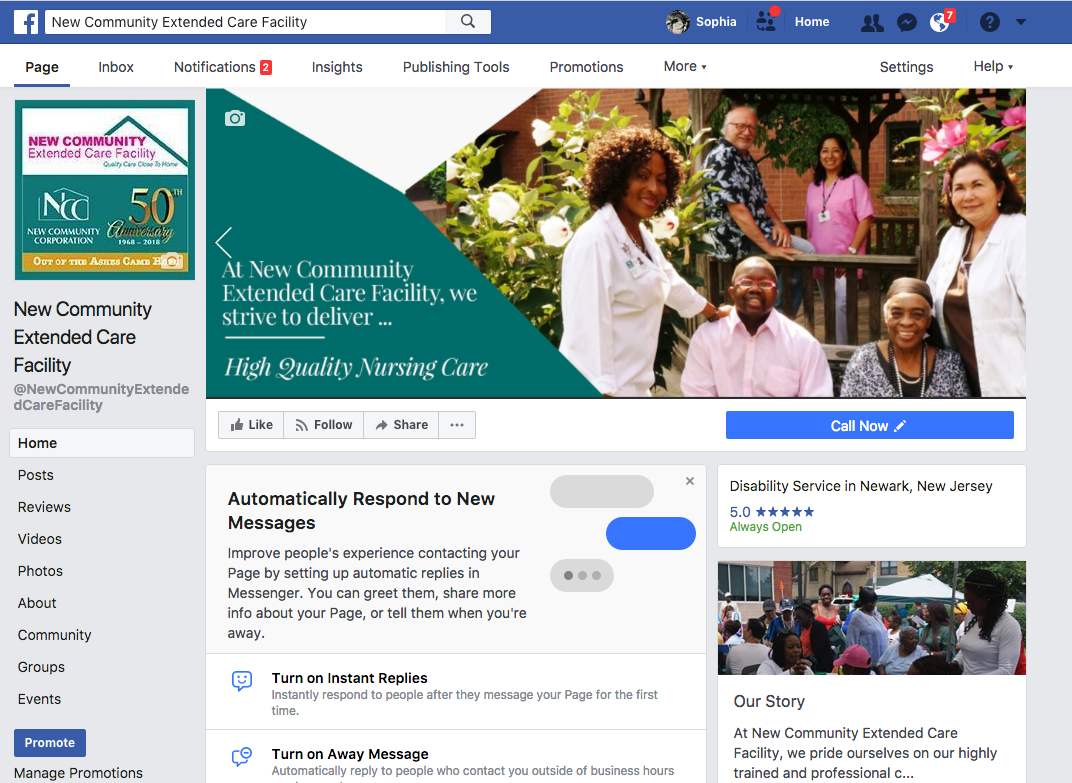 nc-Extended Care FB